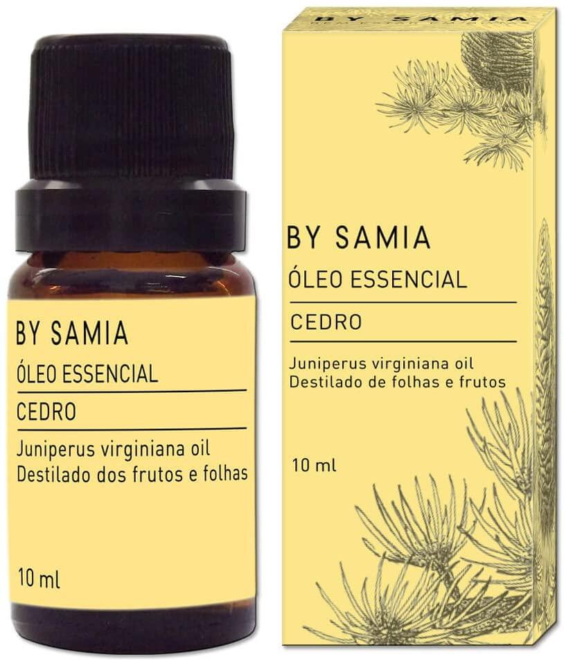 Óleo Essencial Cedro 10ml By Samia