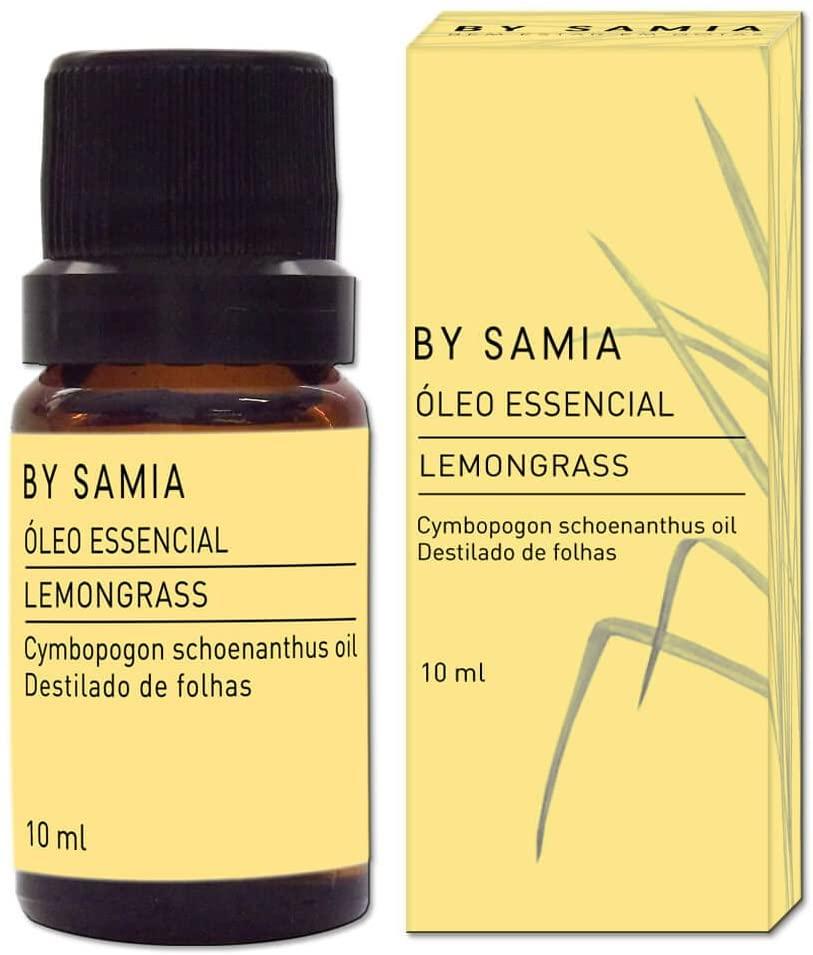 Óleo Essencial Lemongrass 10ml By Samia