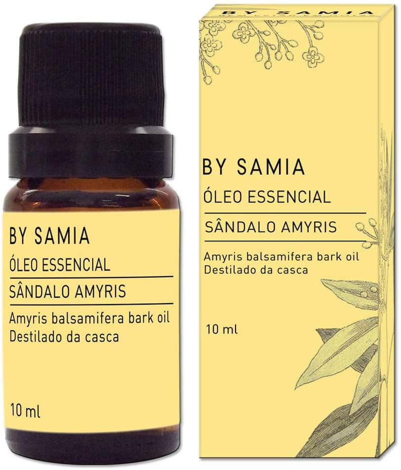 Óleo Essencial Sândalo Amyris 10ml By Samia