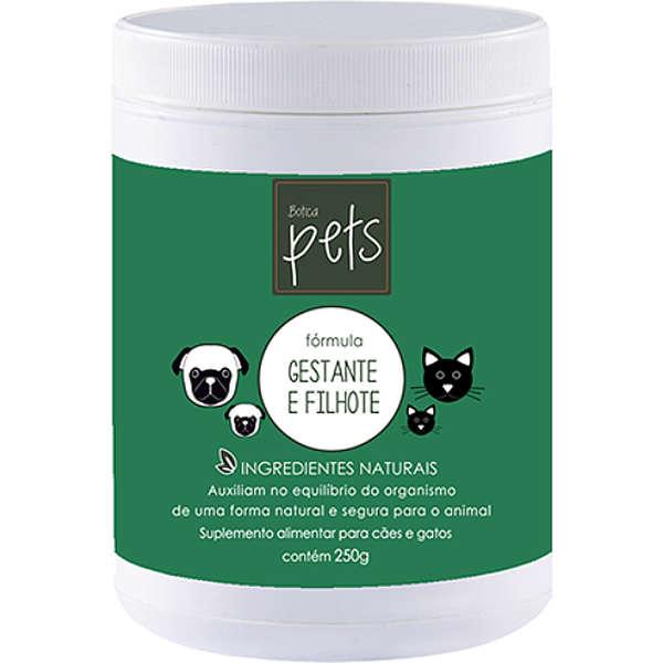 Suplemento Fórmula Gestante e Filhote em Pó 250gr Botica Pets