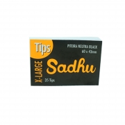 Piteira De Papel Sadhu Black Extra Large