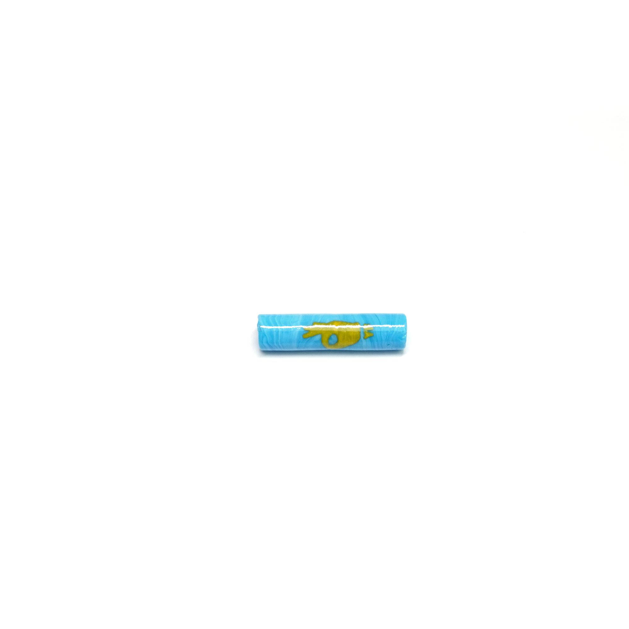 Piteira de Murano Yellow Finger 7mm