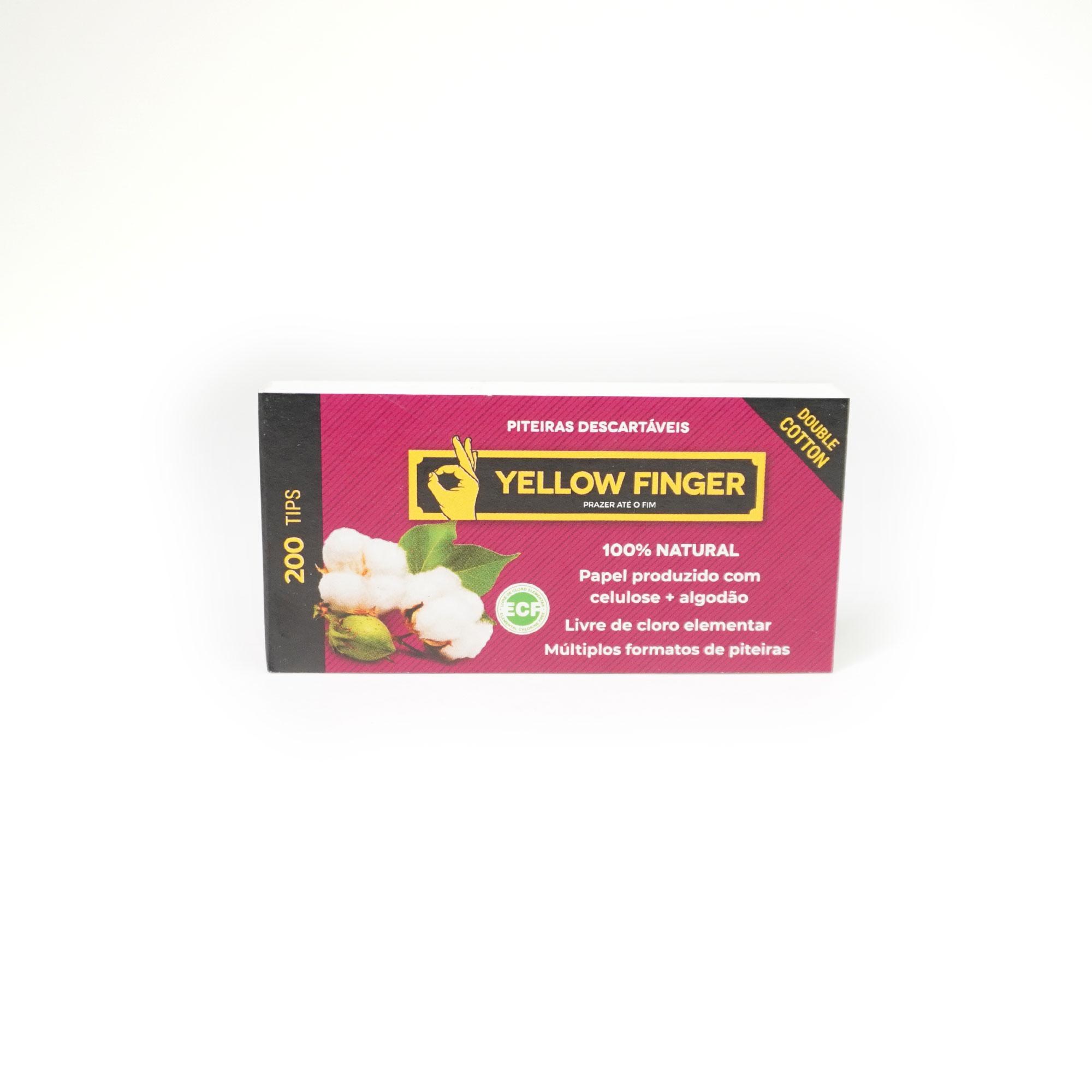 Piteira Yellow Finger - Double Cotton