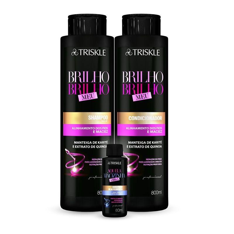 Kit Brilho, Brilho Meu Triskle Professional 1600ml - Triskle Cosméticos