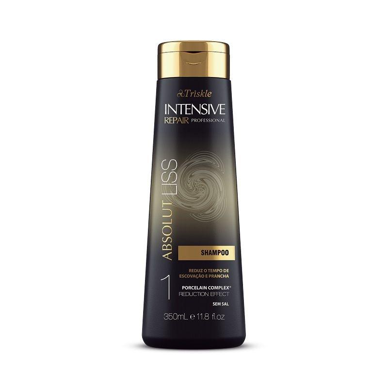 Shampoo Absolut Liss Intensive Professional 350ml - Triskle Cosméticos