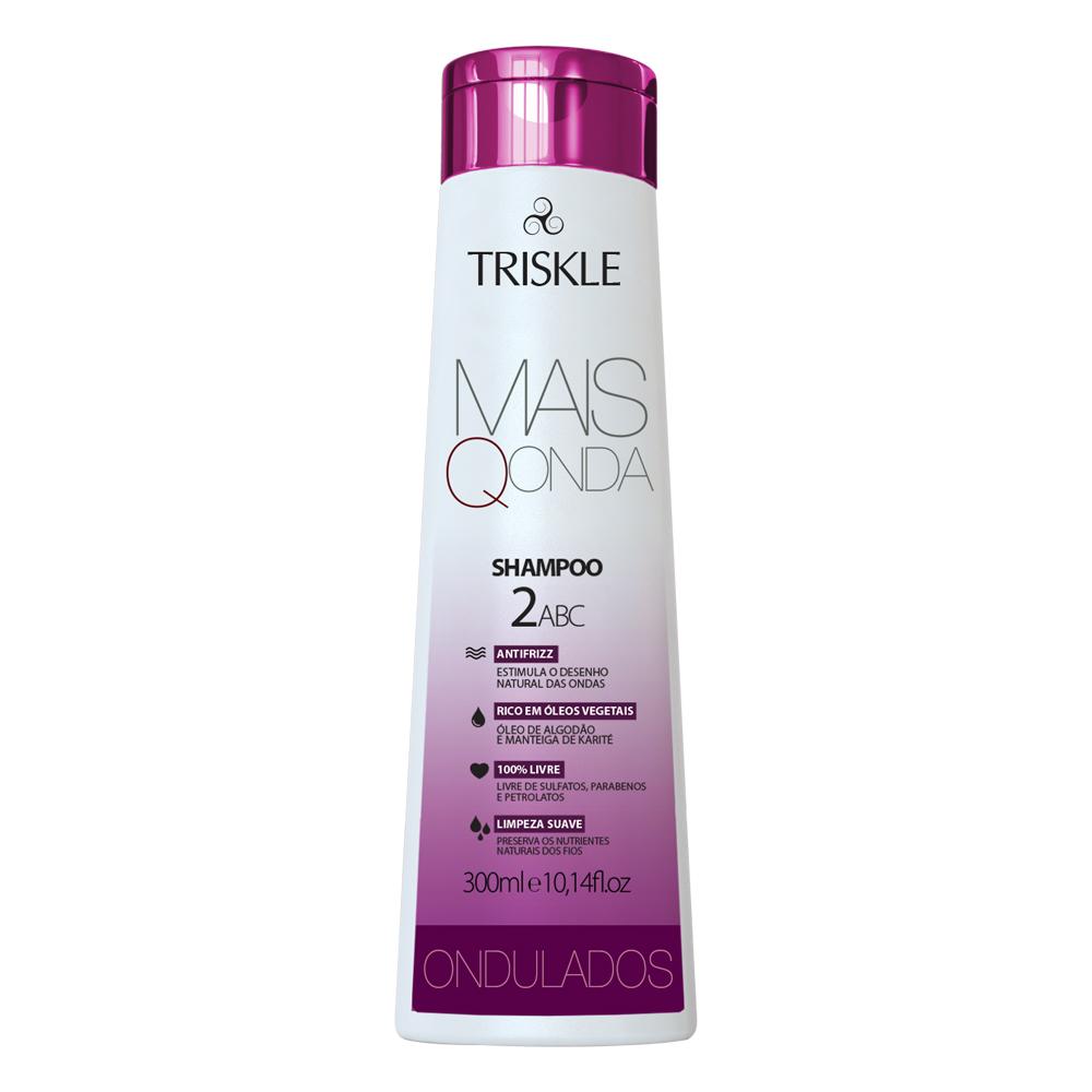 Shampoo Onduladas Mais Q Onda 300ml - Triskle Cosméticos