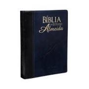 Biblia de Estudo Almeida | azul nobre