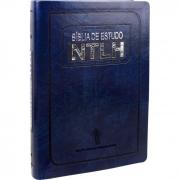BÍBLIA DE ESTUDO NTLH AZUL