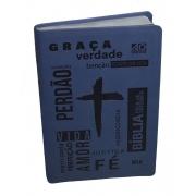 Bíblia Fácil de Entender NTLH - Capa Emborrachada Azul