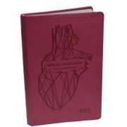 Bíblia Fácil de Entender NTLH - Capa Emborrachada Coração