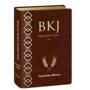 BÍBLIA KING JAMES 1611 COM ESTUDO HOLMAN Marrom