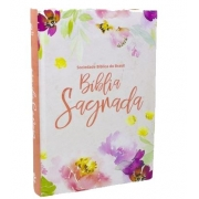 BÍBLIA SAGRADA FLORAL -  NAA