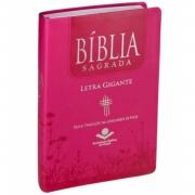 BÍBLIA SAGRADA LETRA GIGANTE NTLH Pink