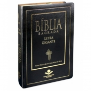 BÍBLIA SAGRADA LETRA GIGANTE NTLH Preta