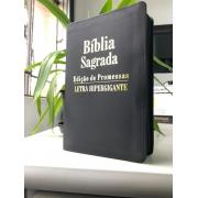 BÍBLIA SAGRADA LETRA HIPERGIGANTE | ZIPER & ÍNDICE | EP