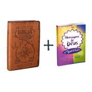COMBO - Bíblia das Descobertas para Adolescentes + Mensagem de Deus para Garotas