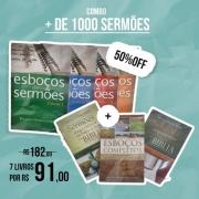 COMBO - mais de 1000 sermões