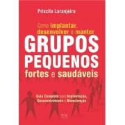 Grupos Pequenos-Como implantar, desenvolver e manter Grupos Pequenos fortes e saudáveis - Priscila Laranjeira