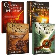 KIT Orações de Batalha Espiritual (4 Livros)