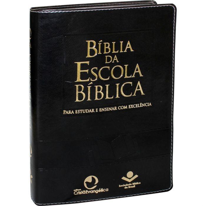 BÍBLIA DA ESCOLA BÍBLICA   CAPA PRETA