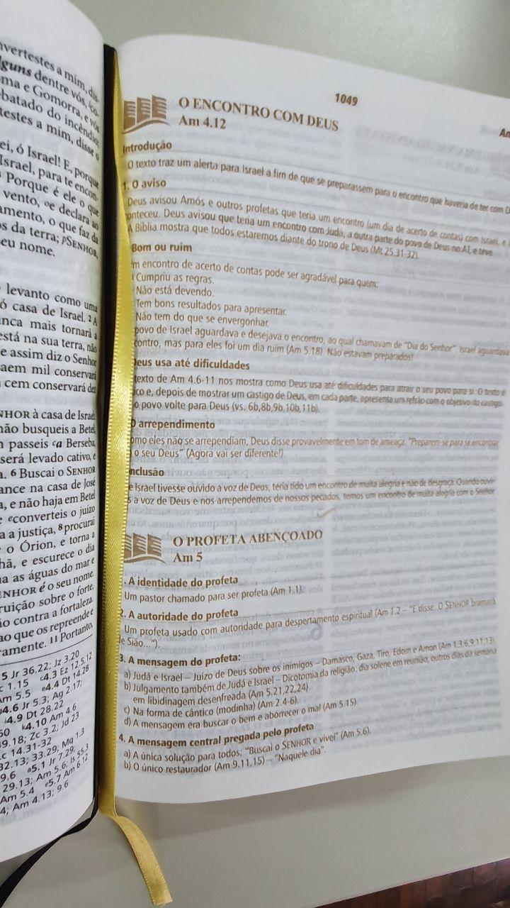 BÍBLIA DE ESTUDO PREGANDO COM PODER ARC085BEPP ROSA