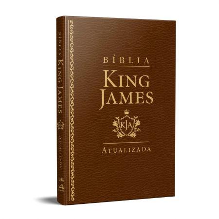 Bíblia King James KJA - SLIM - Capa Luxo Marrom