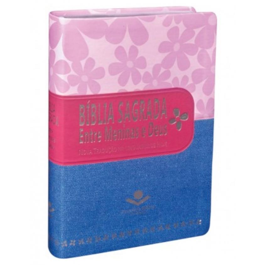 BÍBLIA SAGRADA ENTRE MENINAS E DEUS NTLH Primavera Pink Jeans