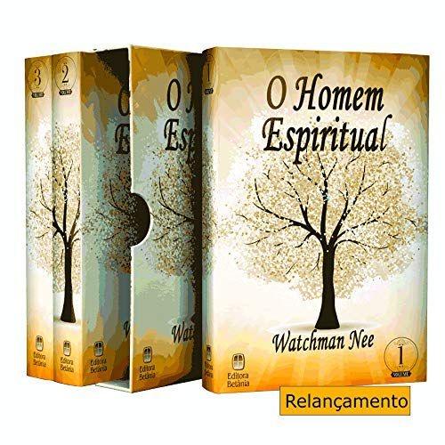 Box 3 Livros   O Homem Espiritual   Watchman Nee