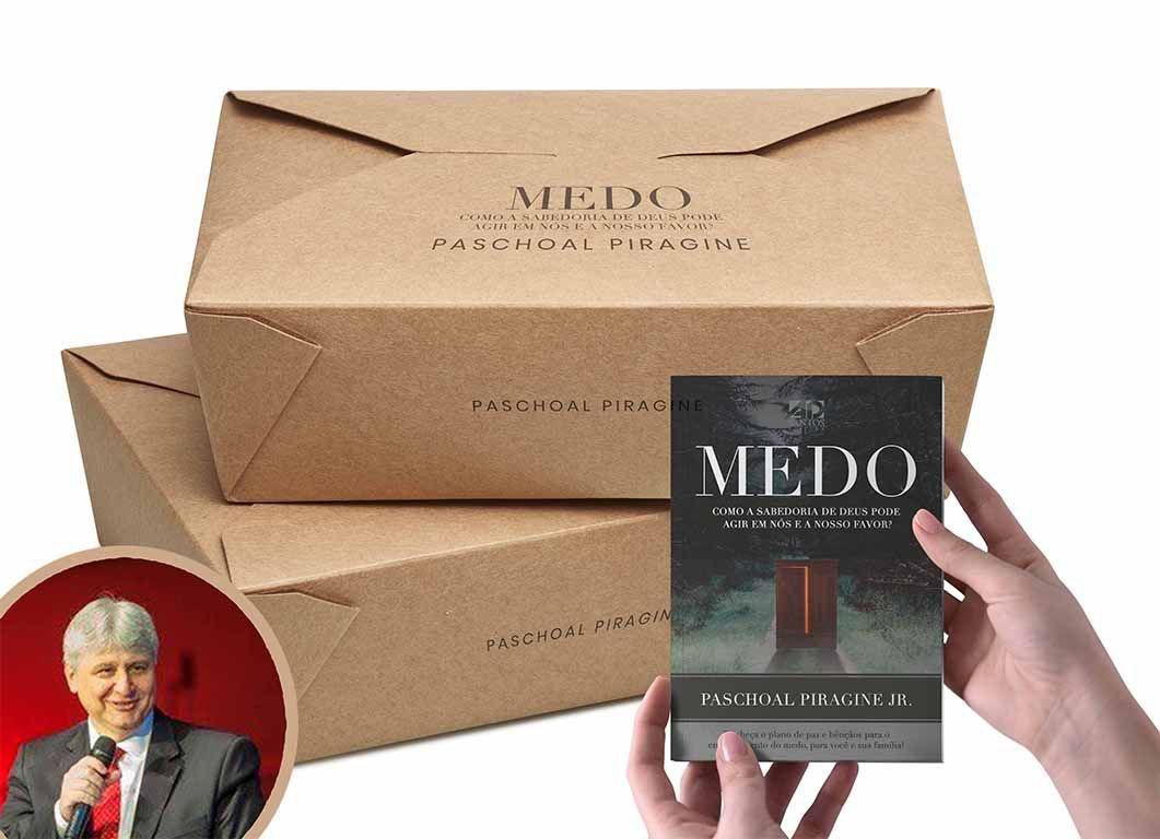 COMBO 200 LIVROS   MEDO - PASCHOAL PIRAGINE JR (3a.Edição)