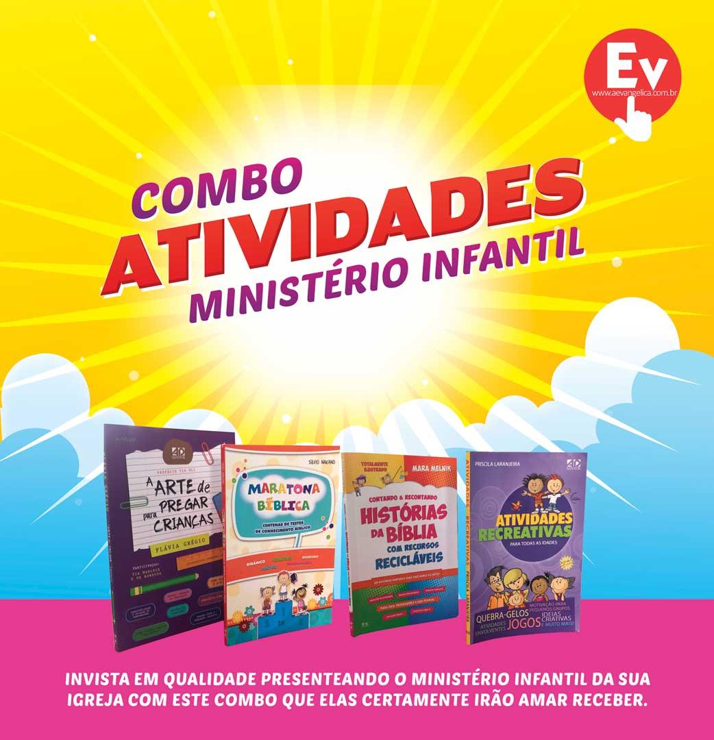 COMBO | ATIVIDADES Ministério Infantil