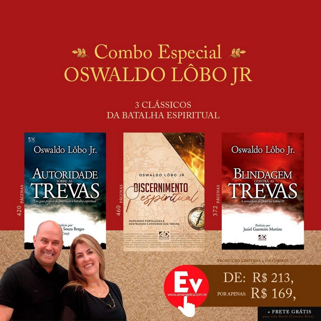 COMBO ESPECIAL   OSWALDO LÔBO JR (Edição Limitada)