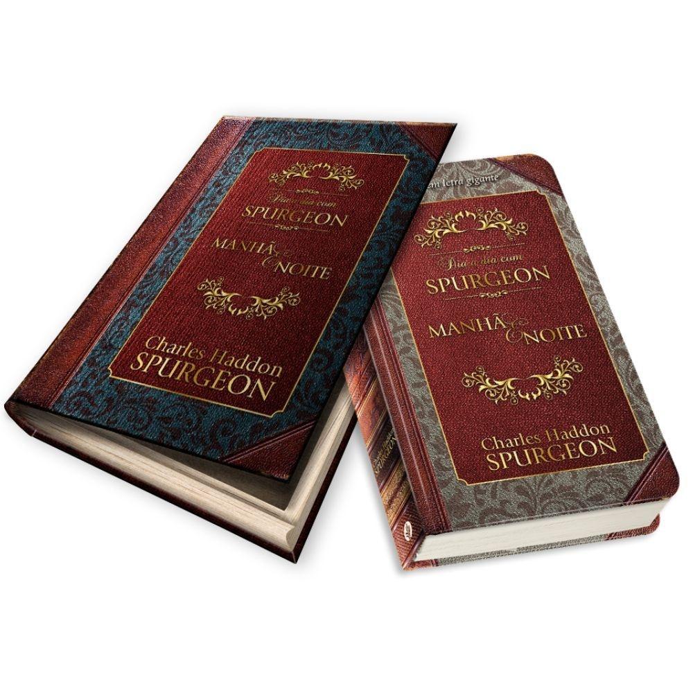 Dia a Dia com Spurgeon - Edição Em Letra Gigante - Box Para Presente