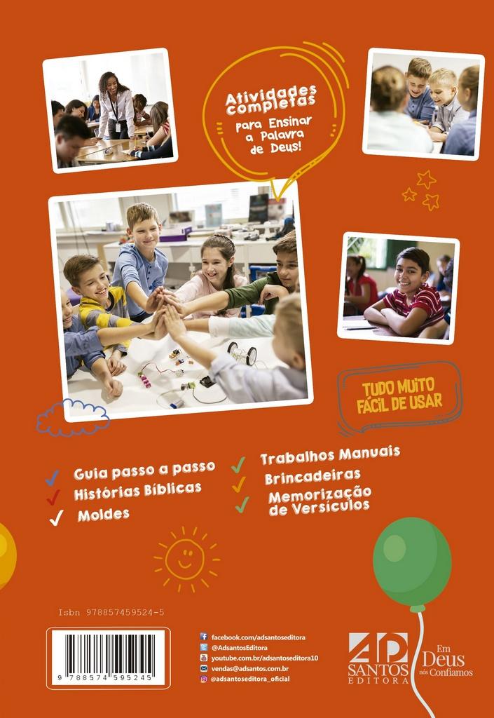 Programas Criativos para encontros de crianças & EBF   Alessandra & Renata Matos