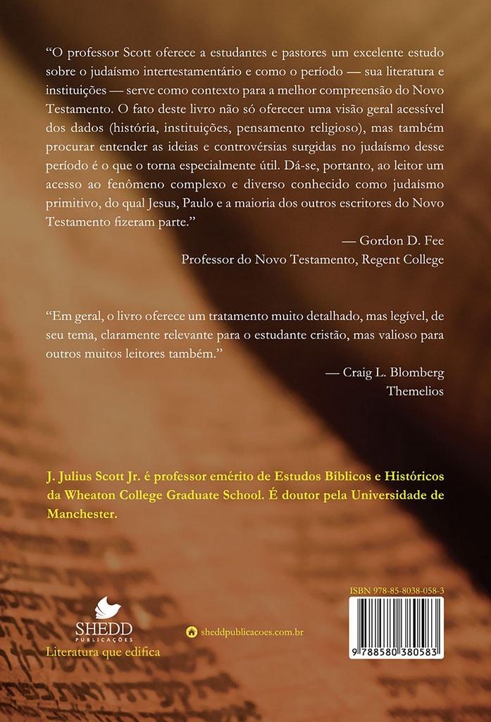 Origens judaicas do Novo Testamento | Julius Scott