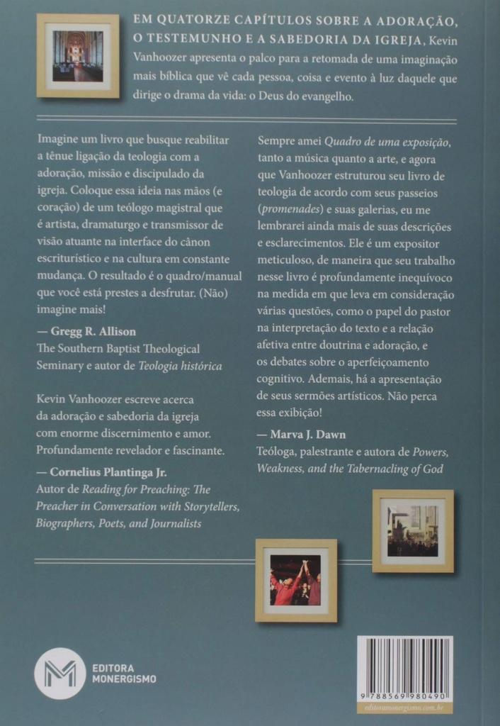 Quadros de uma exposição teológica   Kevin J. Vanhoozer
