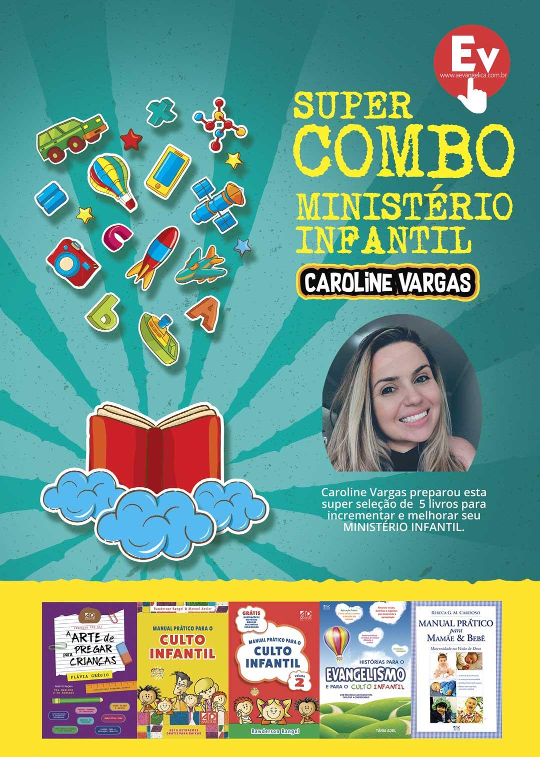Super COMBO Ministério Infantil   by Caroline Vargas
