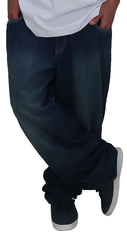 Calça jeans blue plus size