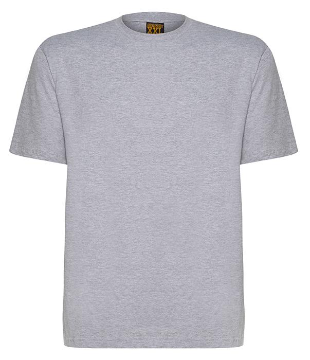 Camiseta basica plus size sem estampa