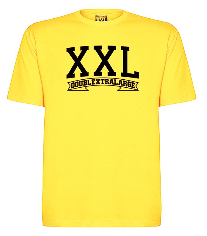 Camiseta tradional XXL plus size