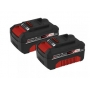 2x Baterias 4.0 Ah 18V Power X-Change - Einhell