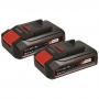 2x Baterias 2.5 Ah 18V Power X-Change - Einhell
