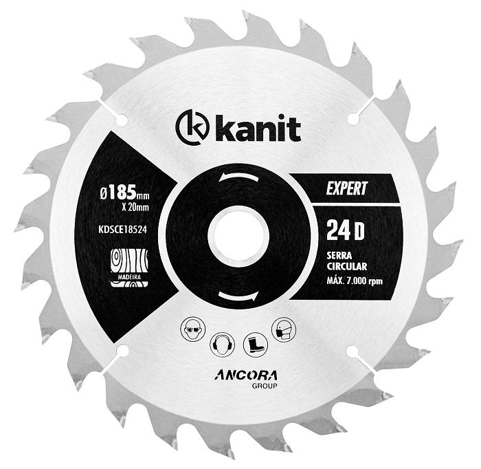 Disco de Serra - Expert - Circular - 190 mm - Kanit
