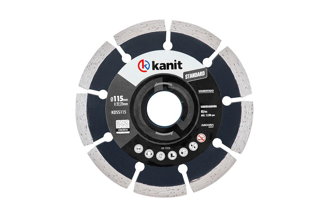 Disco Segmentado Standard 180 mm - Kanit