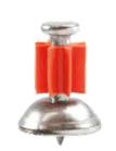 Pinos com Arruela Cônica - Cabeça 7,6 mm - (100 Unidades)