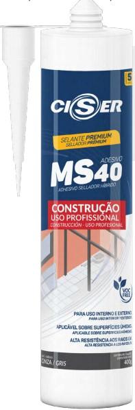 Selante Híbrido construção MS40 400g - Ciser