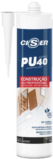 Selante Híbrido construção PU40 400g - Ciser (10 Unidades)