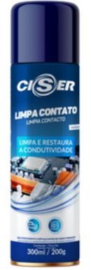 Spray Limpa contato 300ml / 200g - Ciser (10 Unidades)