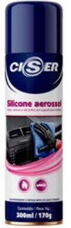 Spray Silicone aerossol 300 ml / 170g - Ciser