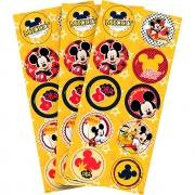 Adesivo Decorativo Redondo Mickey Mouse