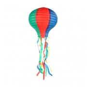 Balão Junino De Papel Com Rabicho 30cm